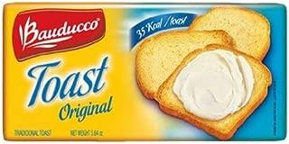 Bauducco Original Toast - 5.64 oz | Torrada Levemente Salgada Bauducco - 160g - (PACK OF 01)