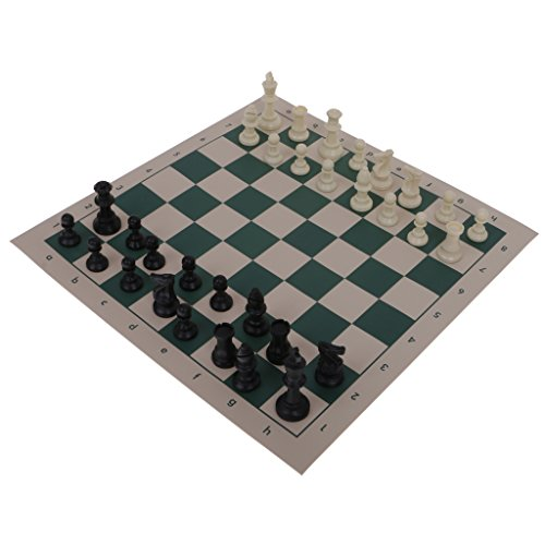 dailymall Portable Plastic Chess Set Roll Up Mat Tube Shaped Box Shoulder Strap Gift S Mississippi