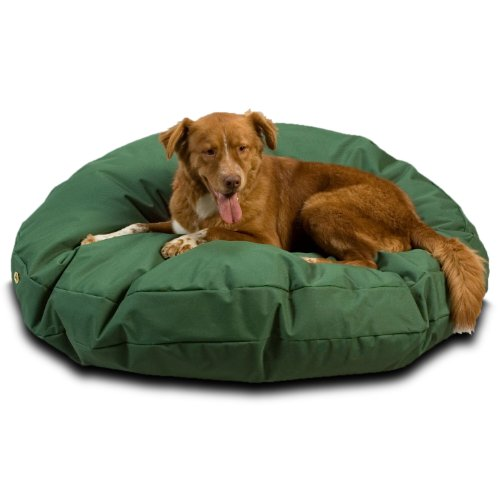 Snoozer Waterproof Round Pet Bed, Large, Green, 48-Inch