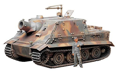 タミヤ 1/35 ミリタリーミニチュアシリーズ No.177 ドイツ陸軍 38cm突撃臼砲 ストームタイガー プラモデル ...