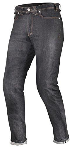 Shima TARMAC RAW DENIM Kevlar Herren Motorradhose Jeans Sas-Tec Mit Protektoren, Blau (Raw Denim), W38/L32 (Long)