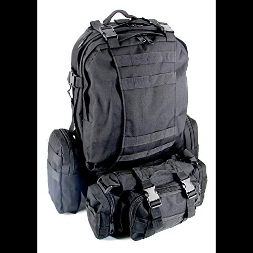 600D Oxford Travel Bag Set Camouflage Backpack Bl002 Climbing Camping Hunting Camo-Black BCVBFGCXVB