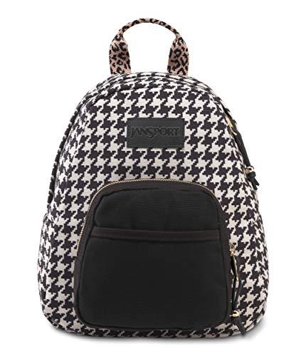 JanSport Half Pint Lux Backpack, Leopard Flock