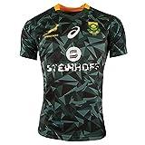 Speed-SY Maillot De Rugby D'Afrique du Sud 2016/2018, T-Shirt À Manches Courtes pour Hommes De La Coupe du Monde De Rugby À Séchage Rapide