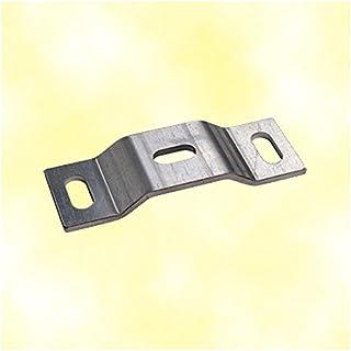 Dealmux Kithchen Armoire Porte 74/mm de long en acier inoxydable Pivot Charni/ère 2/pcs