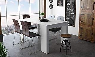 Table A Manger Avec Rallonge.Amazon Fr Table De Salle A Manger Avec Rallonge