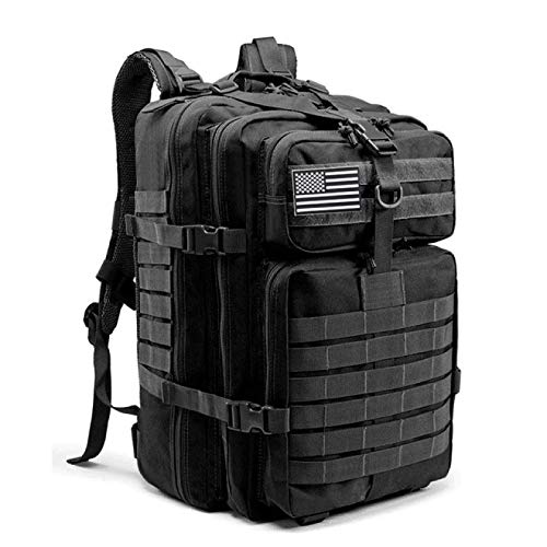 Military Tactical Training Gym Fitness Bag Man Outdoor Hiking Camping Travel Rucksack Trekking Army Backpack 45L
