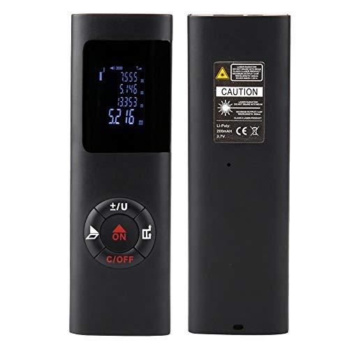 Telémetro digital JQ40 de alto rendimiento, medidor de distancia láser, telémetro portátil, lente ajustable para el hogar industrial