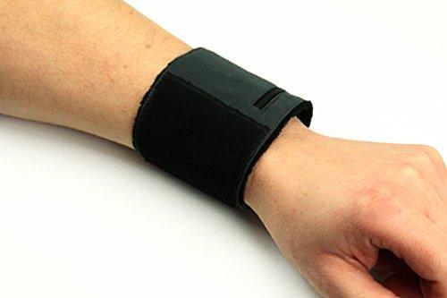 ANDREAS WIPPER Multifunktionsband Black Edition für Handgelenk (-Umfang: ca. 16 cm bis ca. 25 cm)