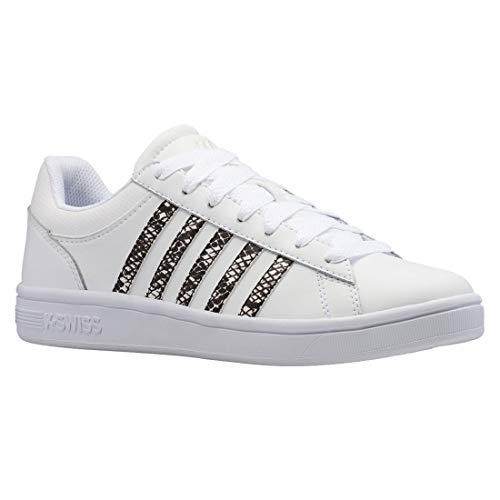 K-Swiss Damen Sneaker Low Court Winston weiß 5.5 (39)
