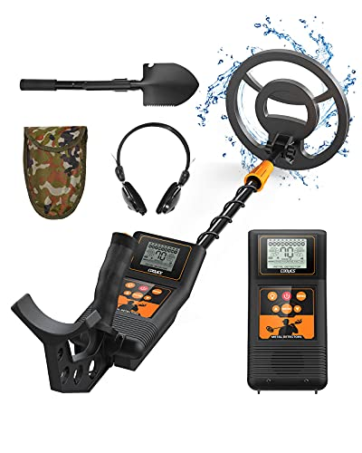 COOYES Professional Metal Detector for Adults & Kids, High Accuracy Adjustable Waterproof Metal Detector, with Lightweight Design for Detecting Gold, Coin, Treasure Hunting