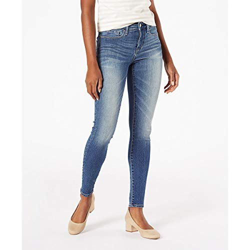 Signature by Levi Strauss & Co. Gold Label Women's Totally Shaping Skinny Jeans, Cape Town, 12 Medium