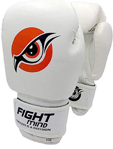 Fight Mind Boxhandschuhe - Perfekt für das tägliche Training - Ideal für Frauen, Männer und Kinder