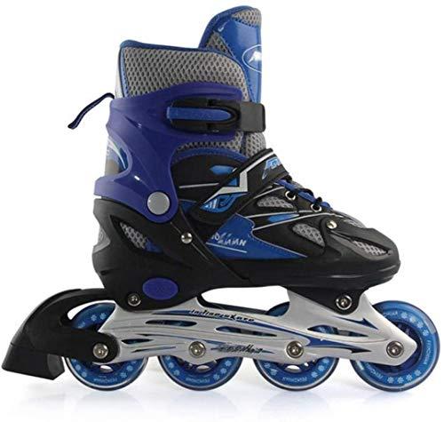 Verstelbare volwassen kinderen nummer acht van schoenen meisje schoenen rolschaats PU knipperende wiel volledige online skeeler kinderen comfortabele schoenen sneakers professionele sport.