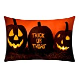 Pillowcase House Decor Kissenbezug,Halloween Kissenbezüge Halloween Horror Muster...