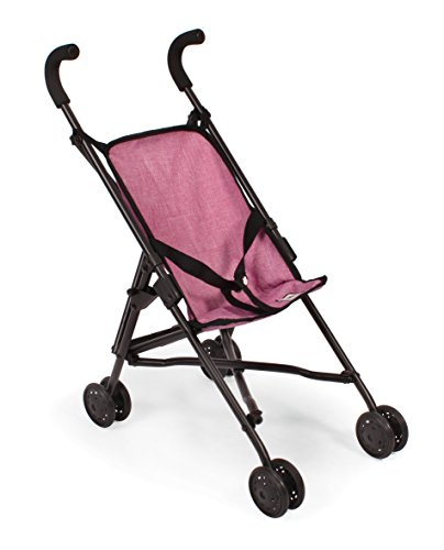 Bayer Chic 2000 601 70 - Mini-Buggy Roma, Jeans rosa