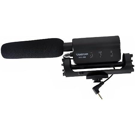 Takstar Sgc 598 Interview Mikrofon Für Nikon Kamera