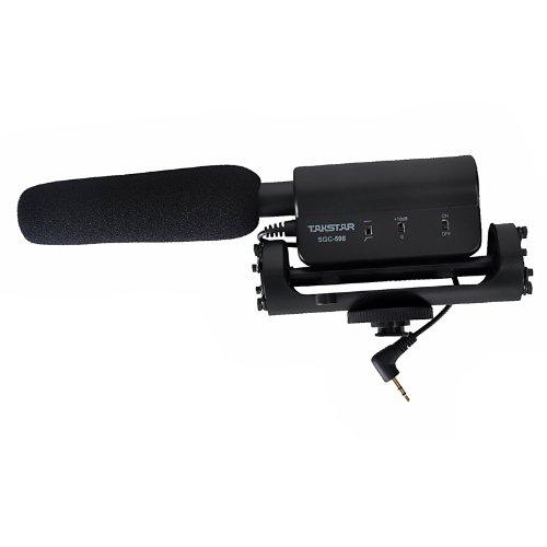 Micrófono de entrevista SGC-598, de TAKSTAR, para cámara Nikon, Canon, videocámara DV