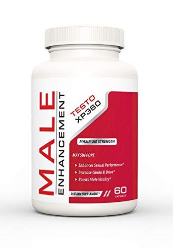 Testo XP360 Male Enhancement - Dietary Supplement (60 Capsules - 30 Servings)