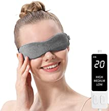 Aroma Season Moist Heated Eye Mask For Stye Blepharitis treatment with Flaxseed, Warm Therapy to Unclog glands, Relieve Dry Eye Syndrome, Stye, MGD and Blepharitis (Grey)