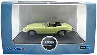 Oxford Jaguar E Type Pale Primrose Diecast Car, Gold, 76ETYP006