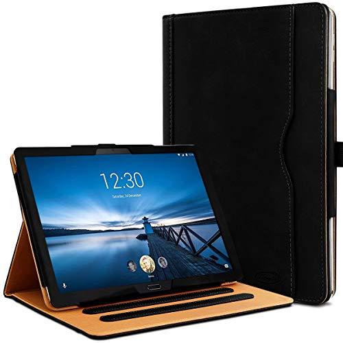 Karylax - Funda de protección integral y modo soporte horizontal de 3 inclinaciones para tablet Lenovo Tab P10 de 10,1 pulgadas, color negro