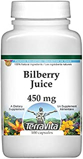 Bilberry Juice - 450 mg (100 Capsules, ZIN: 519182) - 3 Pack