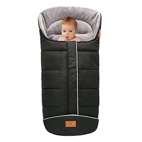 Cochecito de Bebé Saco de Dormir a Prueba de Viento Cálido Y Grueso Saco para Pies Bebé Bunting Bag Toddler Stroller Blanket Wrap for Car Seat Stroller