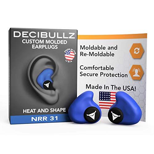 dDecibullz Custom Bouchons d'oreilles moulés: Taille Unique...