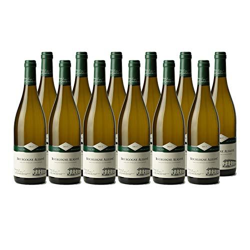 Bourgogne Aligoté Blanc 2017 - Domaine Eric Montchovet - Vin AOC Blanc de Bourgogne - Cépage Aligoté - Lot de 12x75cl