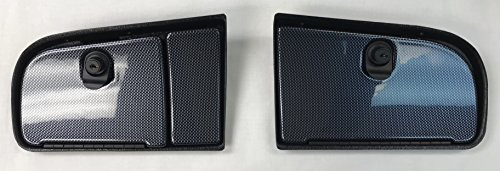 E-Z-Go TXT Golf Cart EZ Install Locking Glove Box Door Set In Carbon Fiber (WILL FIT NEW AND CURRENT GENERATION 1994 AND UP) (WILL NOT FIT RXV MODELS)