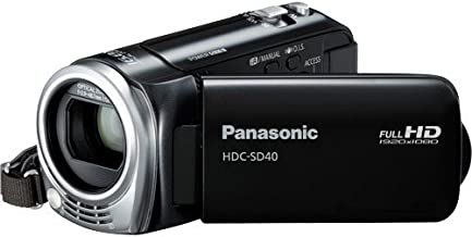 Panasonic HDC-SD40K HD SD Card Camcorder (Black) (Discontinued by Manufacturer)