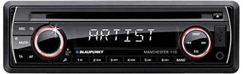 Blaupunkt MANCHESTER 110 Autoradio (FM/AM-Tuner, CD-RW, 4x 50 Watt, USB 2.0) zwart