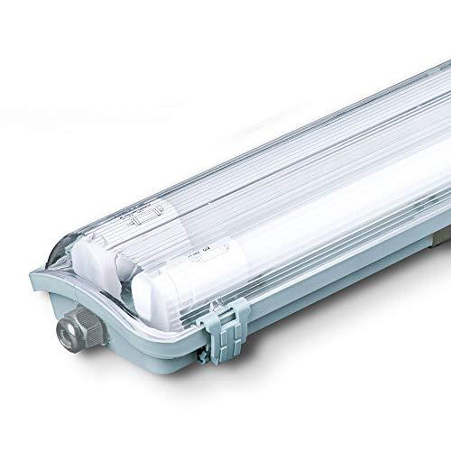 LED 44 W Decken Leuchte Röhren Wannen Industrie Hallen Strahler Tages-Licht