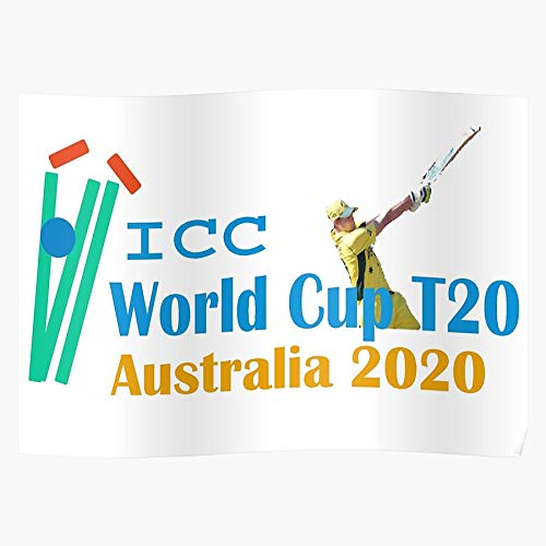 2020 T20 Australia World Back Cup Cover Latest The Best and Newest Poster for Wall Art Home Decor Room
