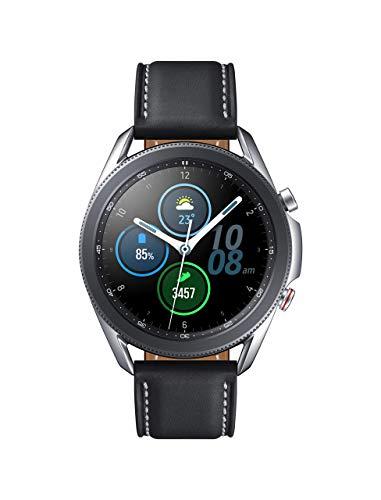 Reloj inteligente Samsung Galaxy Watch3 Watch 3 (GPS, Bluetooth, LTE) con control avanzado de salud, seguimiento de la actividad física y batería de larga duración (plata, 41 mm) (renovado)