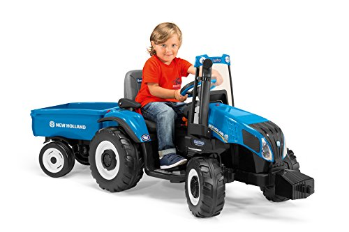 Peg Perego New Holland T8 Tractor &...