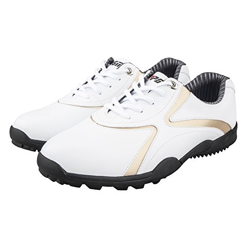 RAHATA Men's Microfiber Leather Ultralight Golf Shoes