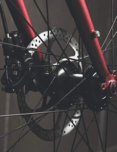 Meine Radtouren: Dokumentiere deine Fahrrad, Mountainbike, Rennrad Touren und Ausflüge ♦ Tagebuch für über 100 Touren ♦ Verbessere deine Fitness und Ausdauer ♦ A4+ Format ♦ Motiv: Felge