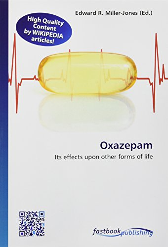 Oxazepam: Its effects upon other forms of life
