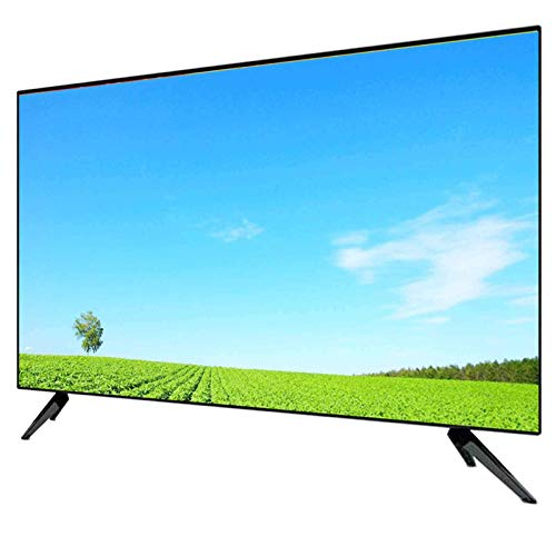 ZFFSC TV di qualità HD Televisione QLED da 32 Pollici, 4K Ultra HD, HD Network Smart TV, WiFi Integrato, Can Screen Cast, Montaggio Parete 42 50 55 60 TV di qualità HD