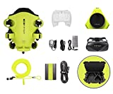 QYSEA FIFISH V6 Underwater Drone + VR Box + 100M Cable + Spool + 64GInternal Storage + HDMI Box + Industrial Case Bundle