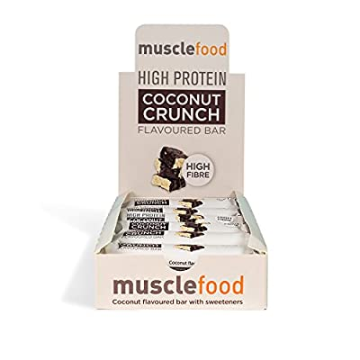 Muscle Food Flavoured Protein Bars 12 x 50g, 15g of protein per bar from MuscleFood