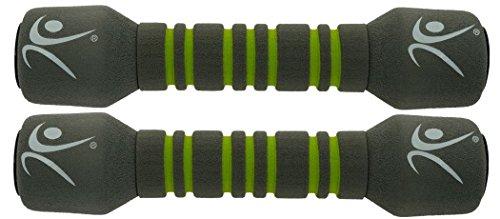 LIFEFIT - Handgelenkmanschetten für Krafttraining in Grau, Größe 2 x 0.5 kg