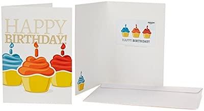 Amazon.com Gift Card in a Greeting Card (Birthday Cupcake Design)