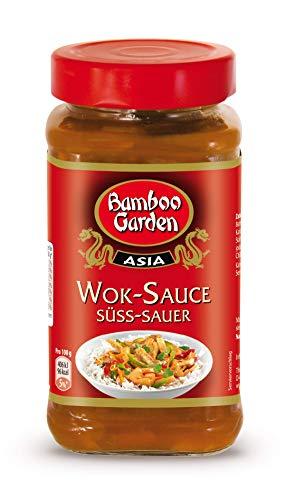 Bamboo Garden Wok Sauce süß-sauer, 4er Pack (4 x 215 ml) 11155760