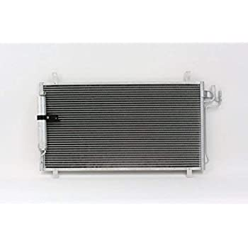 A//C Condenser Compatible with 2009-2014 Nissan Maxima Aluminum Core With Receiver Drier