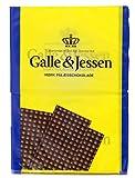 Galle & Jessen - Pålægschokolade Zartbitter Belegschokolade - 240g