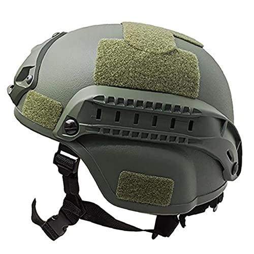 EElabper Combate Táctico Militar Casco De Airsoft Paintball Protector De Cabeza Ejército Cascos Gear Accesorios (Armygreen)