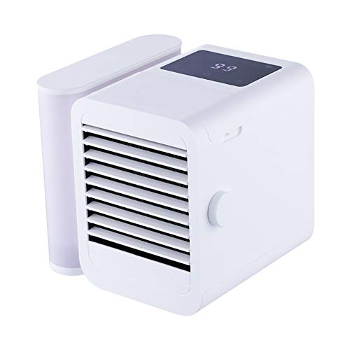 XW Personal Air Cooler, luchtbevochtiger, verdamper, reiniger, kleine luchtkoeler, USB Mini Desktop Air Conditioner Ventilator